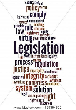 Legislation, Word Cloud Concept 7