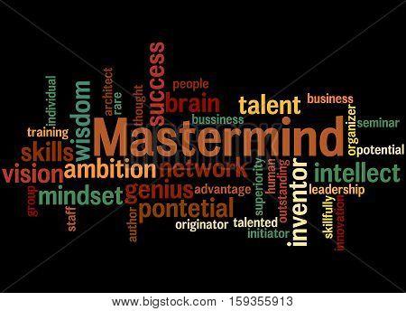 Mastermind, Word Cloud Concept