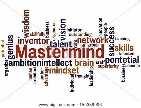 Mastermind, Word Cloud Concept 3