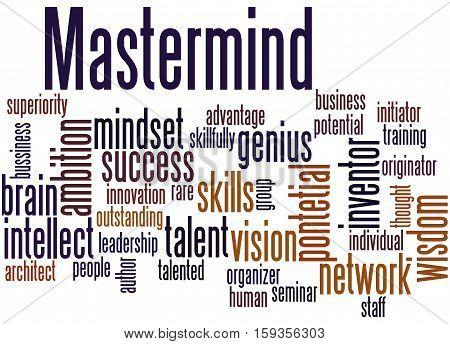 Mastermind, Word Cloud Concept 5
