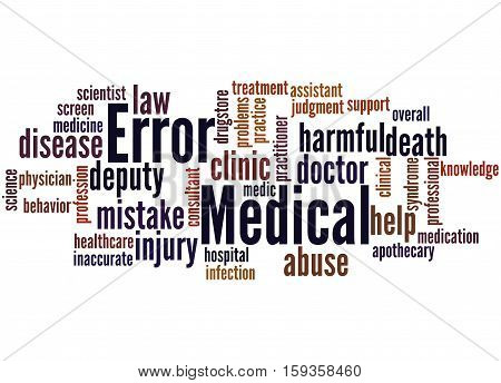 Medical Error, Word Cloud Concept 5