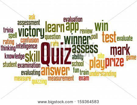 Quiz, Word Cloud Concept 5