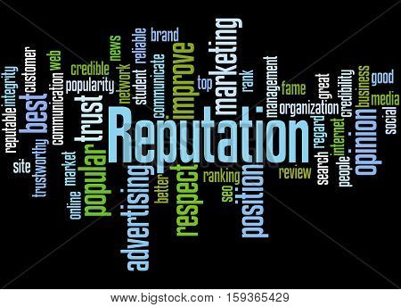 Reputation, Word Cloud Concept 4