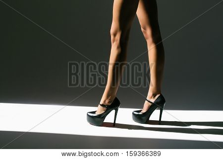 Female Sexy Legs In Shoes