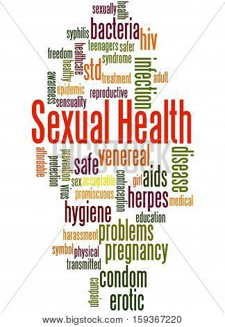 Sexual Health, Word Cloud Concept 5