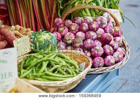 Fresh Healthy Bio Vegetables On Market