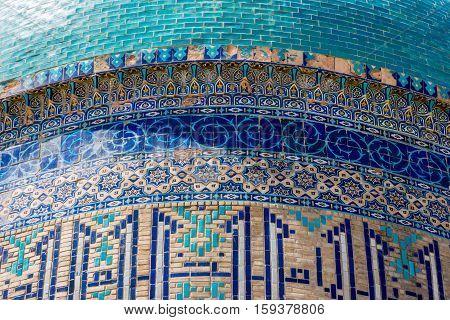 Turkistan Mausoleum, Detail, Kazakhstan