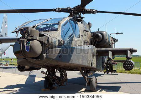 Us Army Boeing Ah-64D Apache Longbow