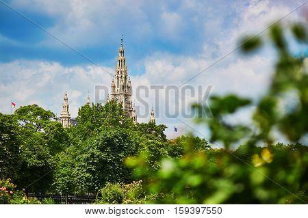 City Hall Of Vienna