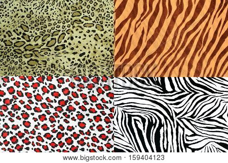 safari style fabric collection can use for background