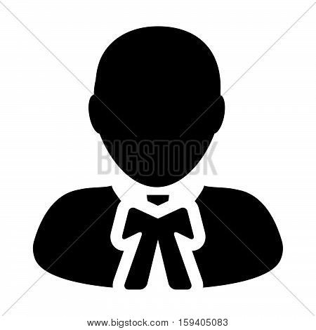 Advocate, Lawyer, Human, Avatar, Law Person Vector Icon illustration