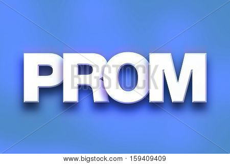 Prom Concept Colorful Word Art