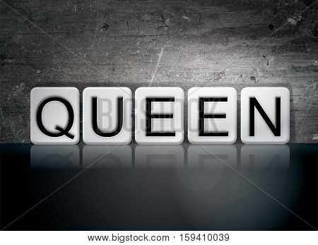 Queen Tiled Letters Concept And Theme