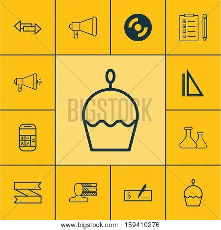 Set Of 12 Universal Editable Icons. Can Be Used For Web, Mobile And App Design. Includes Icons Such As Personal Skills, Crossroad, Media Campaign And More.