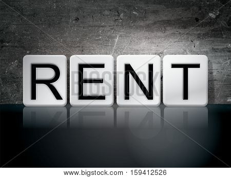 Rent Tiled Letters Concept And Theme