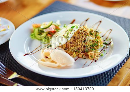Mie Goreng - Traditional Indonesian Meal