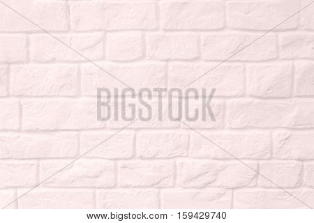 Pink pastel surface stone wall gray tones for use as background. The new design of modern stone wall. pattern of decorative stone wall surface. White pastel cement texture backdrop.
