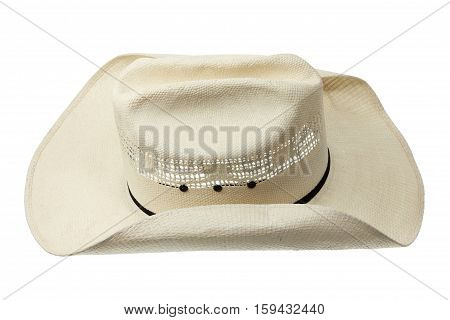 Cowboy Hat on an Isolated White Background