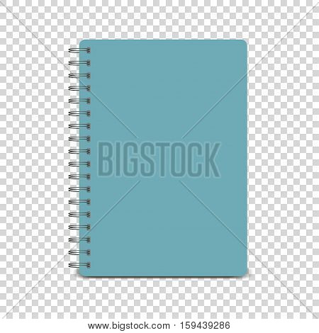Spiral notepad, notebook. Notebook mockup, with place for your image