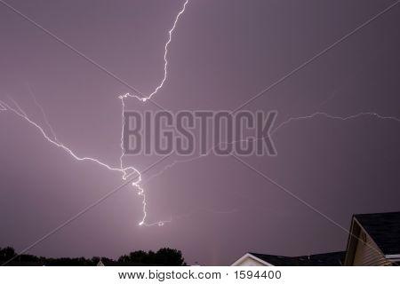 lightning thunder storms rain clouds