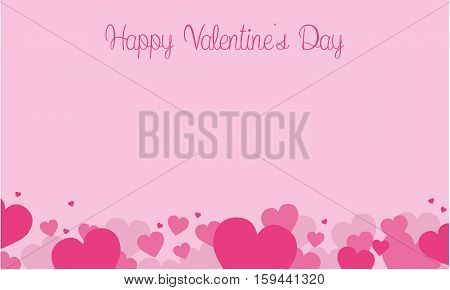 Happy Valentine Day with love romance collection stock