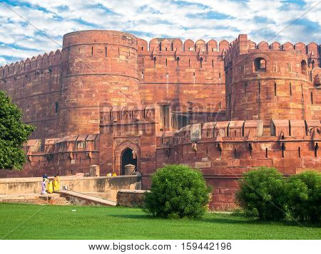 Agra Fort Keep Gate