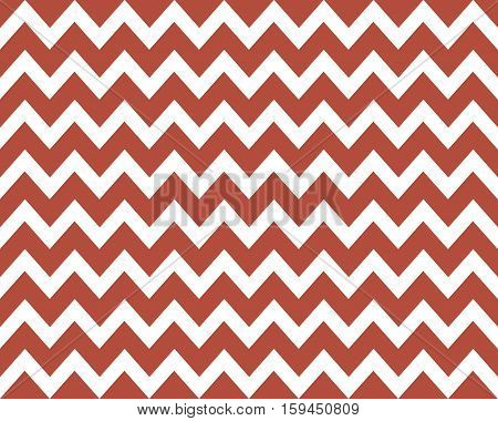 Vintage Zigzag pattern background red and white