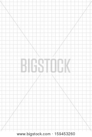 Seamless checkered white and grey paper background