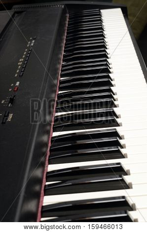 Piano And Electric Piano Keyboard