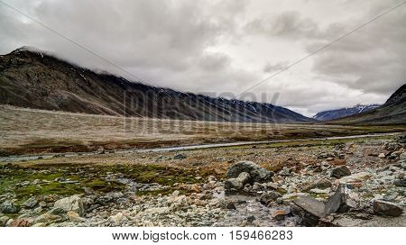 Panorama of Yasin Valley Gilgit-Baltistan Province Pakistan