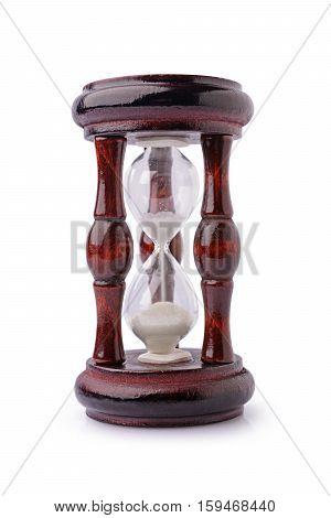 Vintage Wooden Hourglass