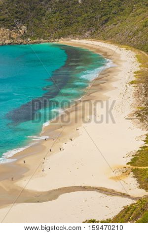 Shelley Beach in West Cape Howe National Park near the towns of Albany and Denmark in Western Australia.