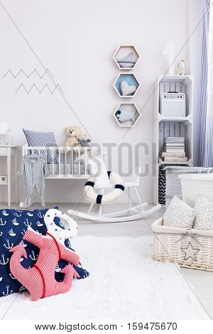 Marine Style In Small Child Room