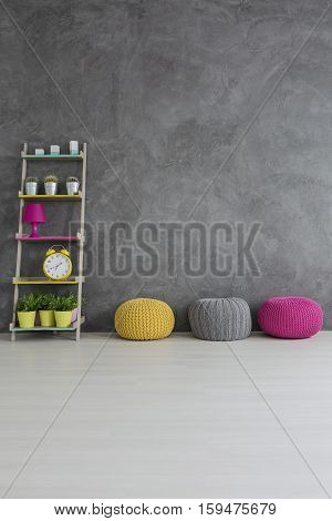 Concrete Wall Interior