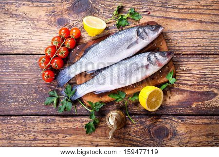 Fresh Fish Sea Bass