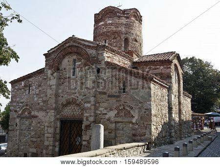 Church of St. John the Baptist in Nessebar, Bulgaria.