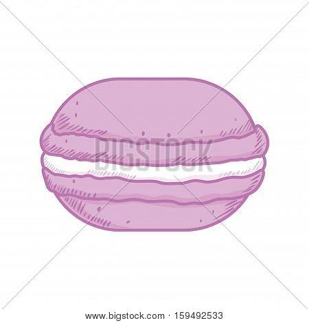 delicious donut dessert icon vector illustration graphic design