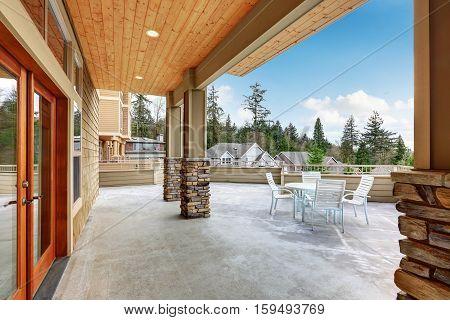 Luxury Multi Level Home Exterior