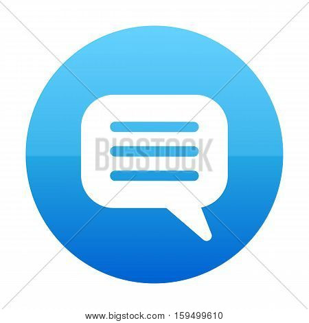 Bubble Chat, Chatting, Comment, Speech, Text Icon