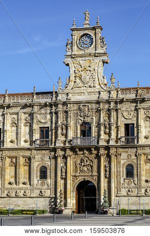 San Marcos Monastery of the sixteenth century in Leon. Spain