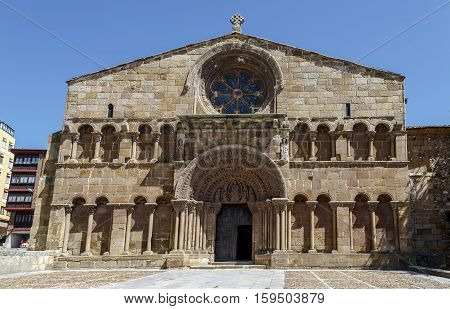 Romanesque church of Santo Domingo in Soria Castilla-Leon Spain