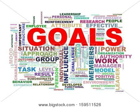 Goals Wordcloud Word Tags