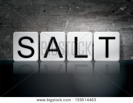 Salt Tiled Letters Concept And Theme