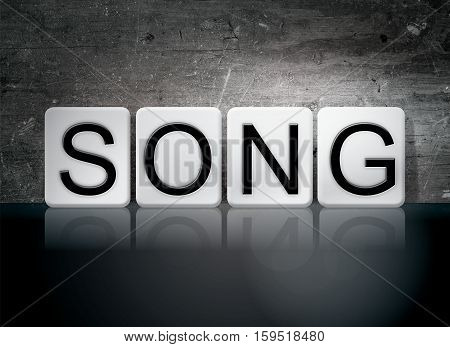 Song Tiled Letters Concept And Theme