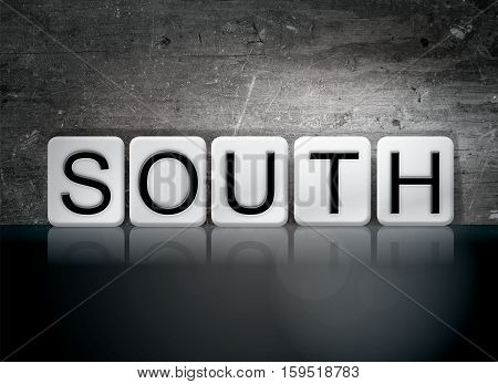 South Tiled Letters Concept And Theme