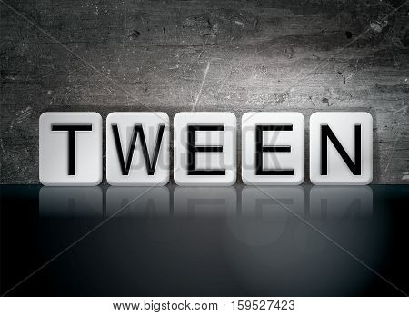Tween Tiled Letters Concept And Theme