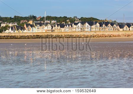 Colorful Buildings In Deauville, France