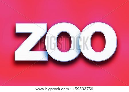 Zoo Concept Colorful Word Art