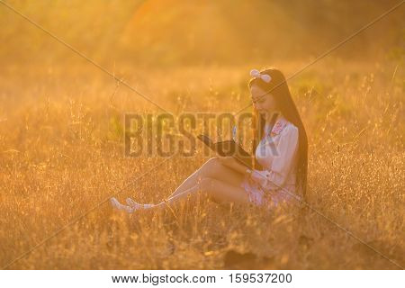 Women are memoirs on a note close at sunset nostalgia.