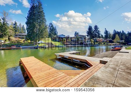 Private Dock On Lake Tapps